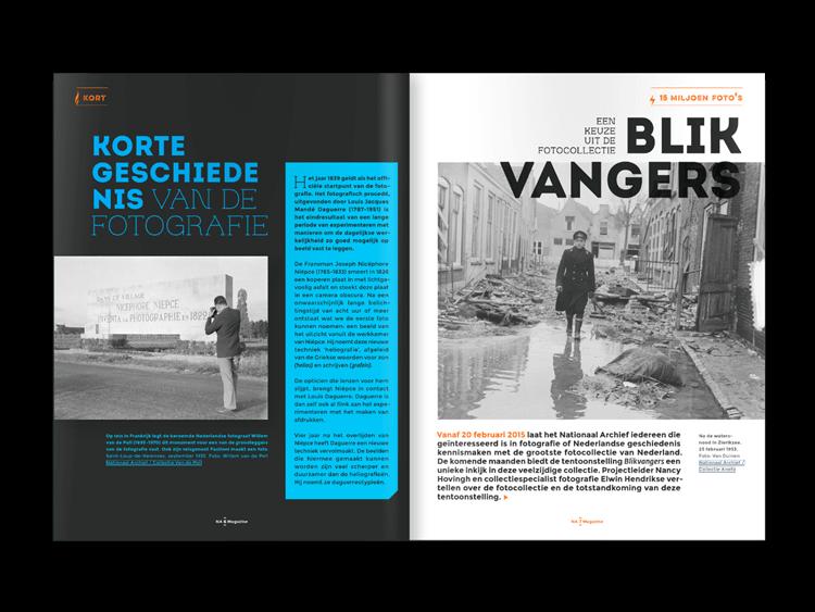 Studio Duel, Nationaal Archief, Digitaal Magazine, Issuu