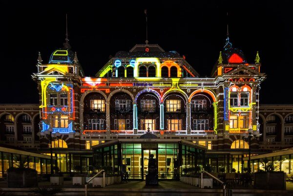 Studio Duel, The Hague Highlights, Light Art, Kurhaus