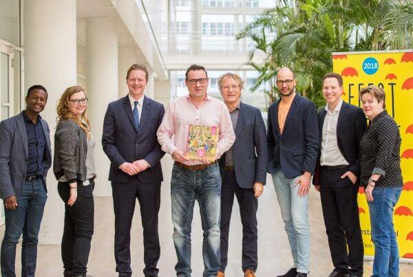 studio duel, Feest aan Zee, Gemeente Den Haag, Richard de Mos